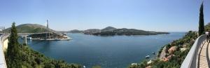 Arrivée sur Dubrovnik